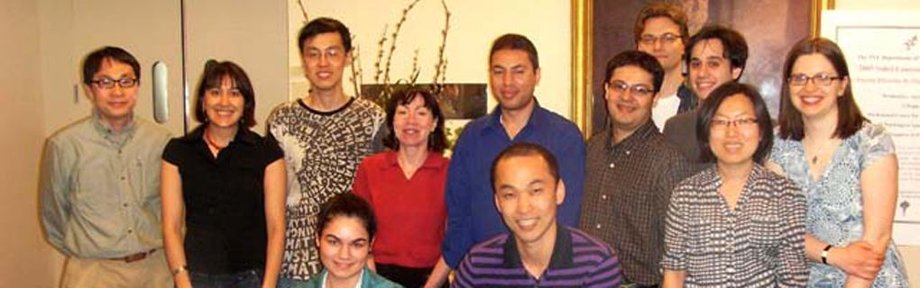 Hin Hark, Rosana, Yunlang, Angelina, Tamar, Shereef, Segun, Christian, Leif, Joe, Namhee, and Meredith